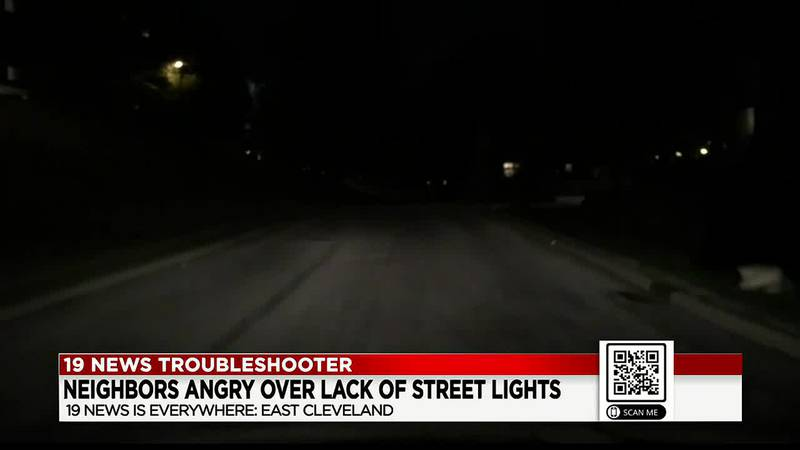 East Cleveland residents angry over lack of street lights