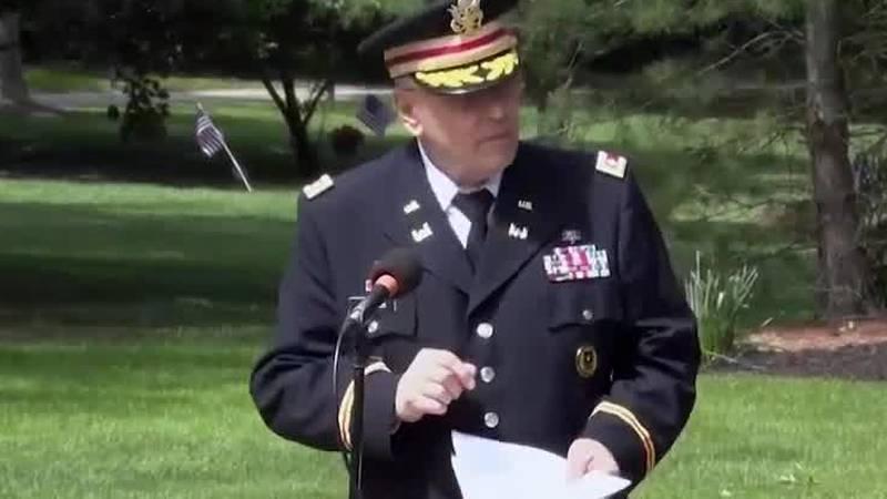 Veteran censored during speech