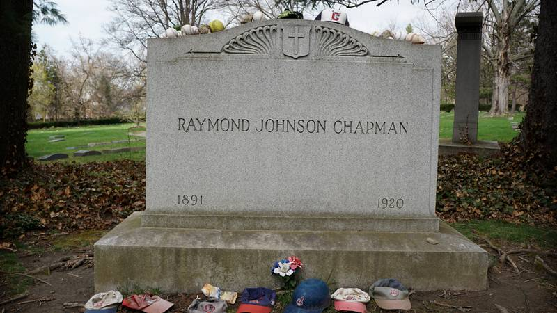 Raymond Johnson Chapman was playing for the Cleveland Indians in 1920 when during a game...