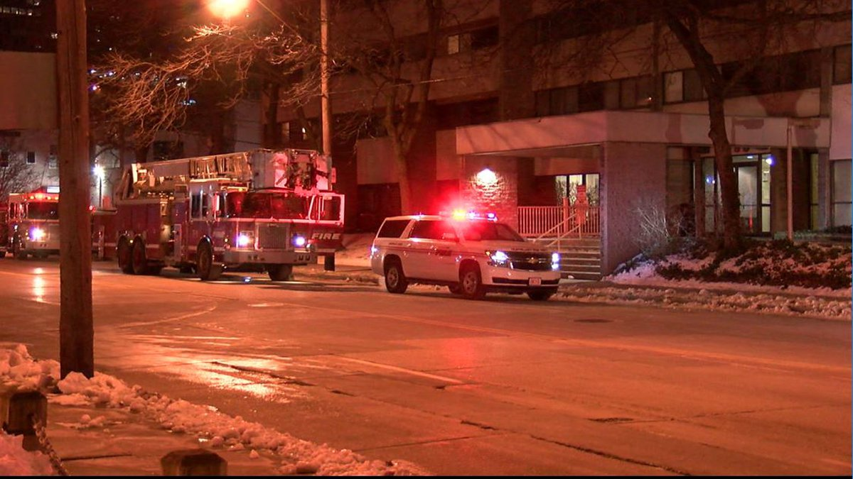 A 68-year-old man and Cleveland firefighter were injured Wednesday night, after a fire broke...