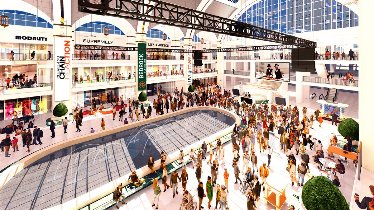 New Tower City Center Rendering