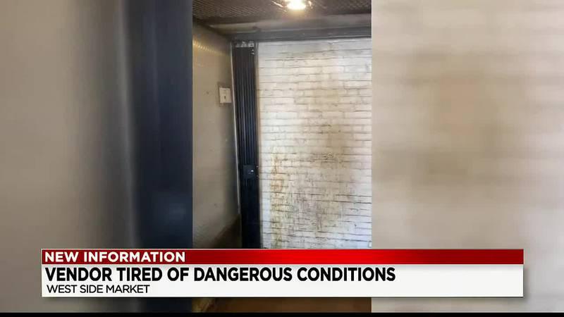 West Side Market vendor speaks out about dangerous conditions