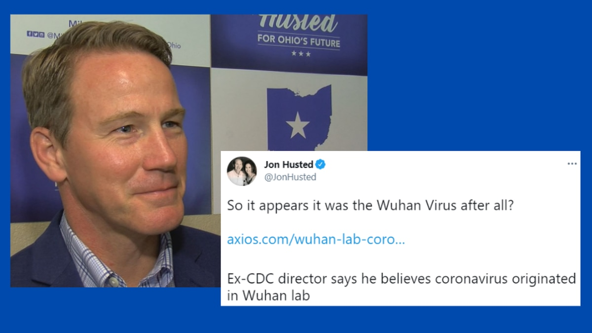 'So it appears it was the Wuhan Virus after all?' Ohio Lt. Gov. under fire after tweets on...