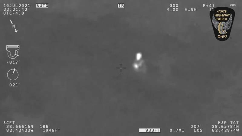 Ohio State Highway Patrol flight crew finds missing boy with autism in Lawrence County woods