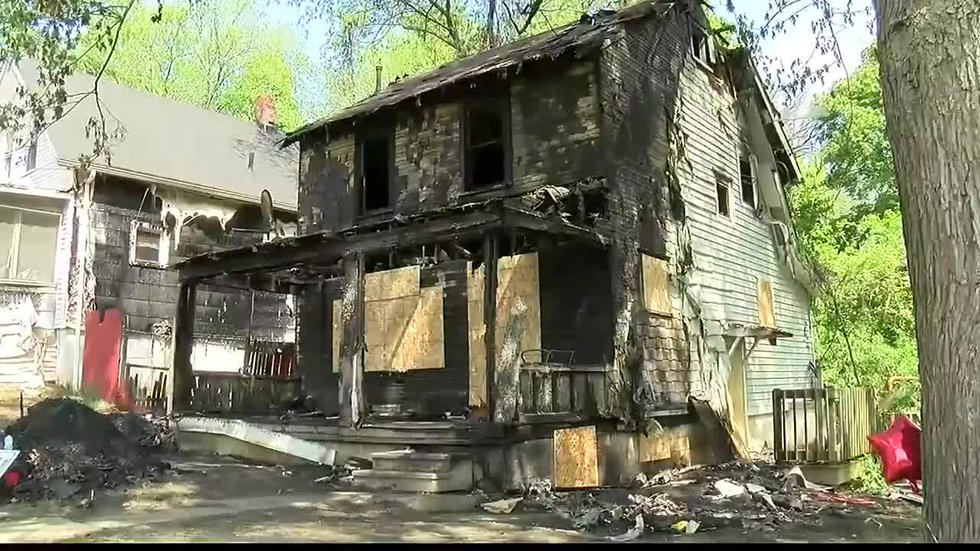 Five people were killed and four others were burned in a house fire on Linden Avenue in Akron...