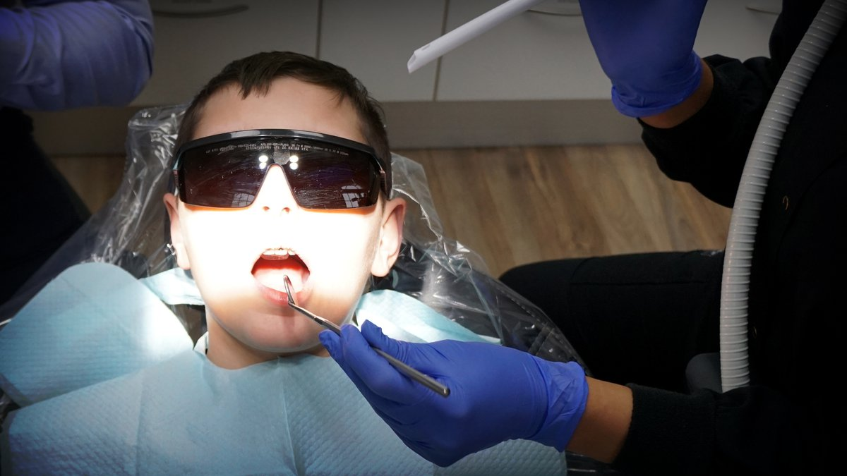Dr. Ryan Slaten, DDS, believes the future of dentistry will be without pain. Slaten uses a new...