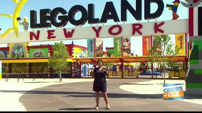Josh and Maria get a tour of LegoLand New York