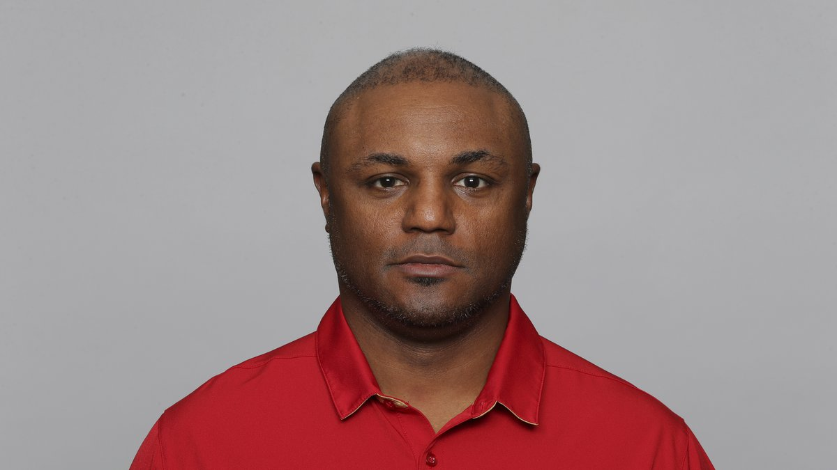 This is a 2019 photo of Joe Woods of the San Francisco 49ers NFL football team. This image...