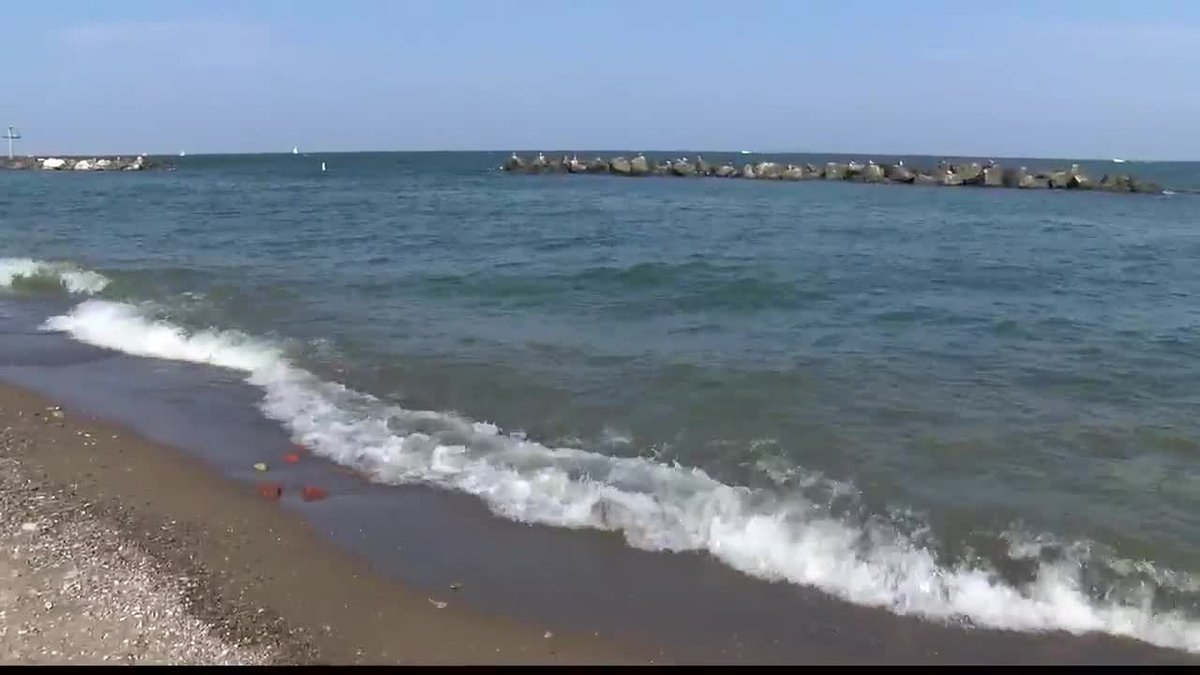 Man, boy recused by U.S. Coast Guard at Euclid Beach Park