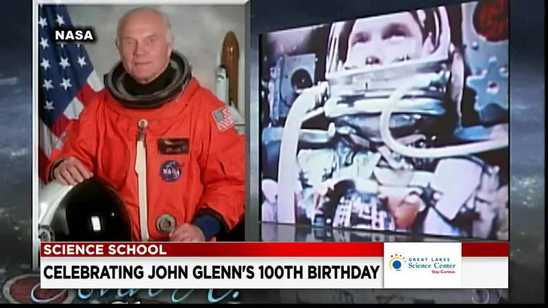 Honoring John Glenn on his 100th birthday