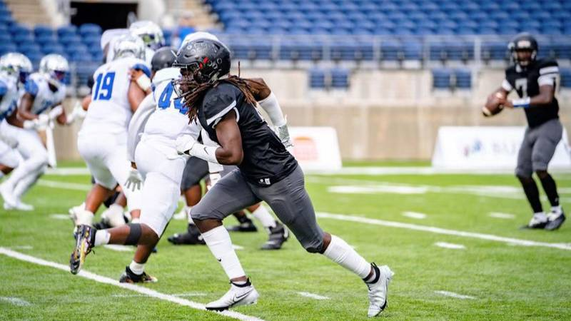 Bishop Sycamore Jaylen Morris played in the game in Canton over the weekend that lead many to...