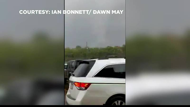 Tornado confirmed in Medina County with funnel cloud captured on camera