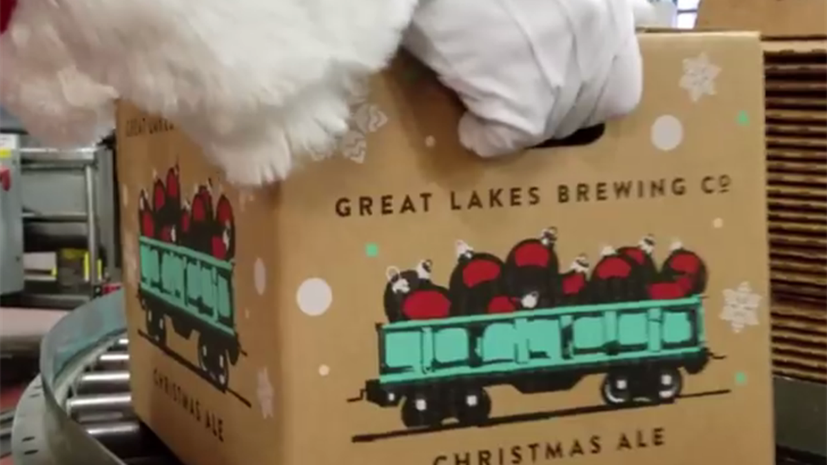 Great Lakes Brewing to bring Christmas Ale in July to Progressive Field