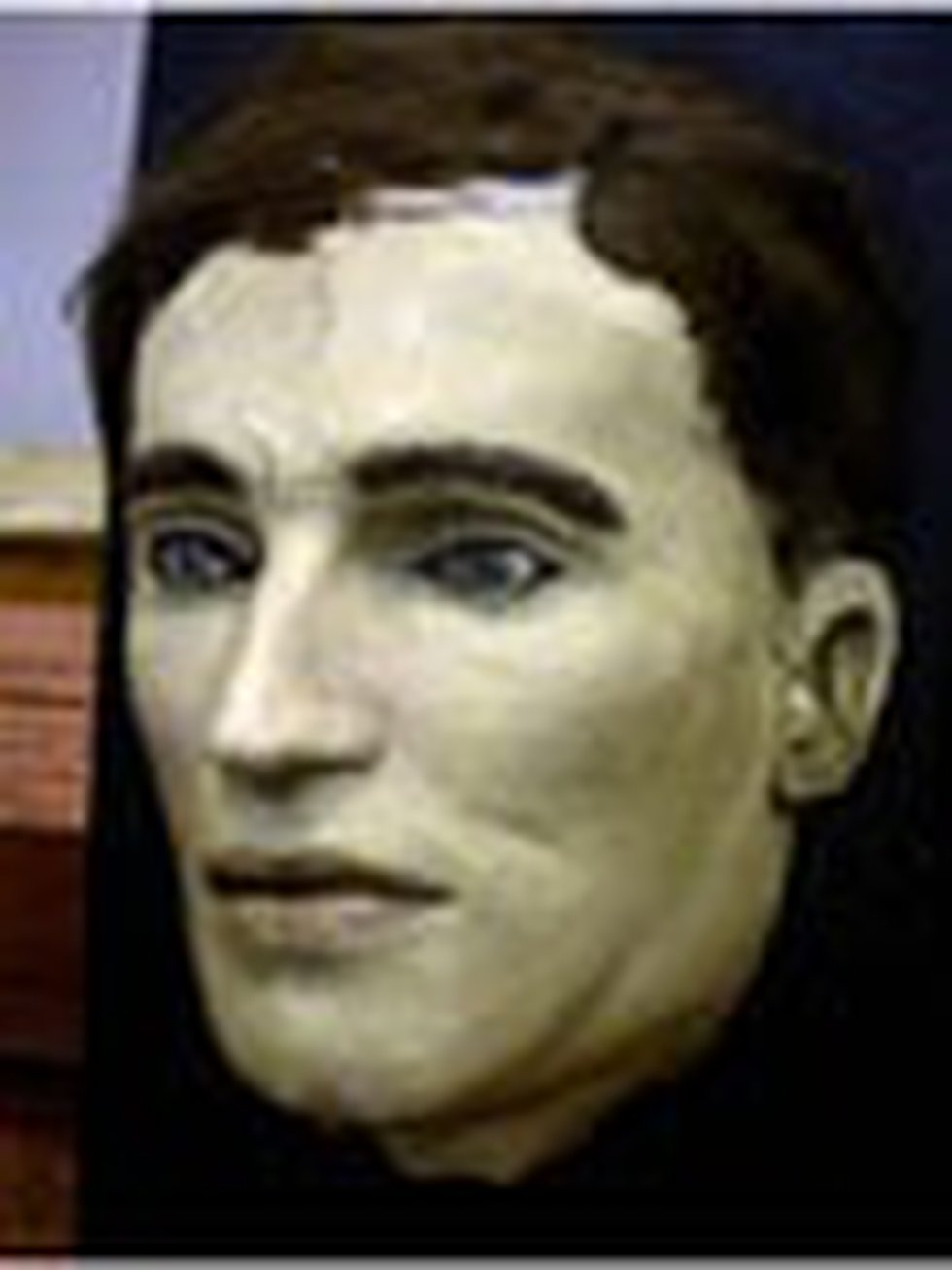 This is a death mask of the second victim in the Cleveland Torso Murders. The mask was shown to...