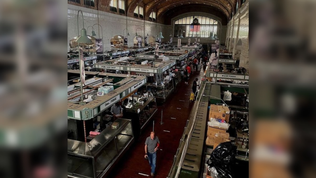 A power outage closed several vendors Saturday at the West Side Market.