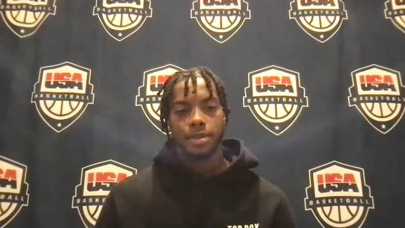 Garland on Team USA promotion