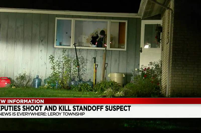 Lake County woman in hospital after her boyfriend stabbed her before he was shot to death by...