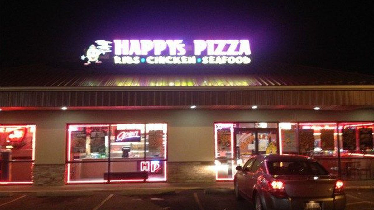 Caudill was a delivery driver for Happy's Pizza in Lorain. (Source: WOIO)