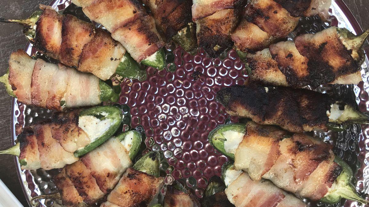 Taste Buds Tailgate prepares grilled, stuffed jalapenos