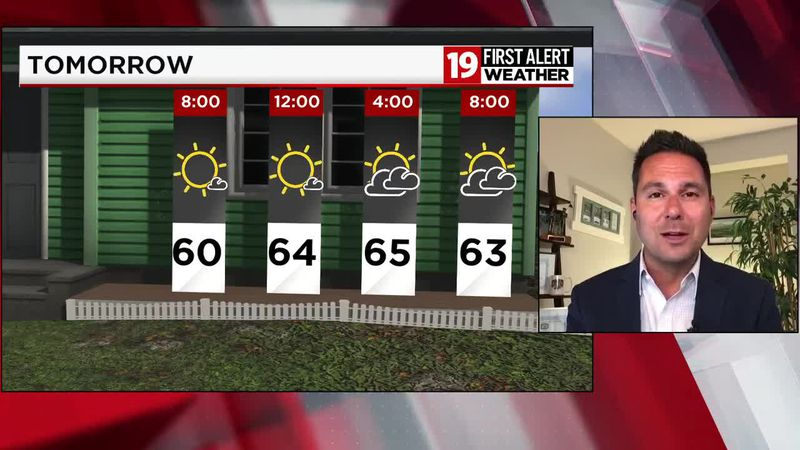 19 First Alert Weather Day: Thunderstorms could go severe, produce heavy rain on Friday
