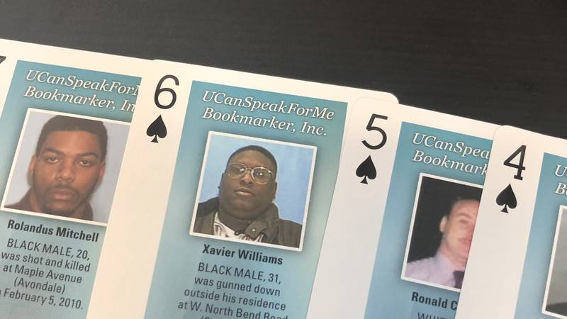 Inmates in numerous jails and prisons across Ohio now have access to playing cards that feature...