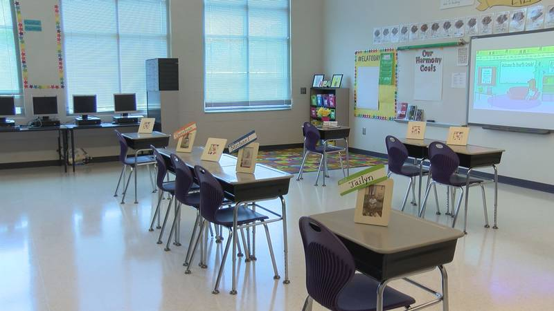 Classrooms will be empty in New Hanover County Schools for the first several weeks as the...