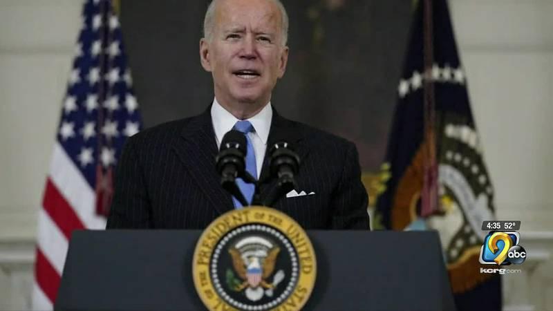 Biden announced plan for $2 Trillion spending plan.