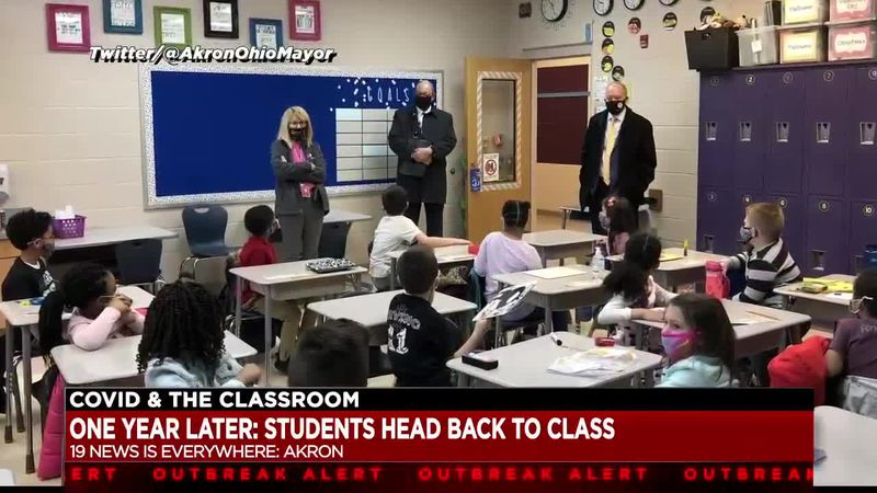 Return to in-person learning begins today for Akron Public Schools