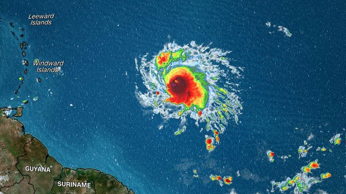 Sam strengthens into 4th major hurricane of the season.