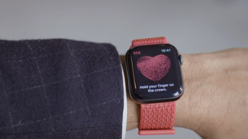 The Electrocardiogram feature of Apple Watch Series 4 becomes available via software update on...
