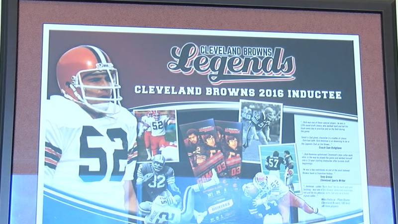 Dick Ambrose's ten-year Cleveland Browns career just the beginning for him