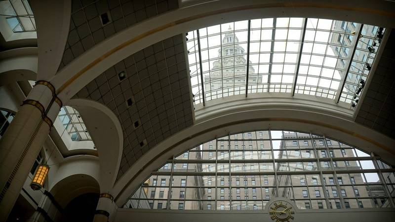 The Terminal Tower Observation Deck is open to the public.