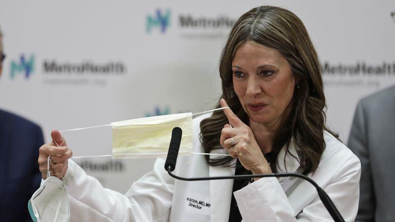 Dr. Amy Acton (AP Photo/Tony Dejak)