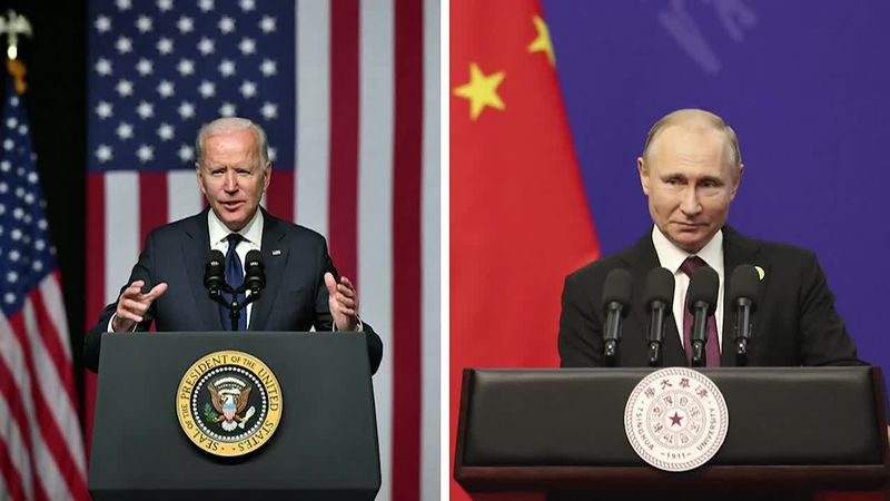 Biden says he will raise several fraught issues with Putin, including cyber attacks on the US...