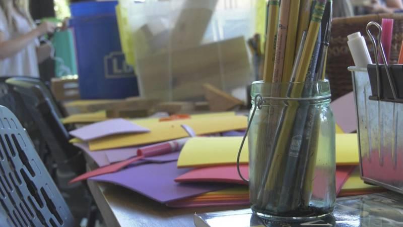 Art supplies (FILE)