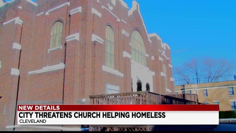 Cleveland church could lose religious designation after sheltering the homeless
