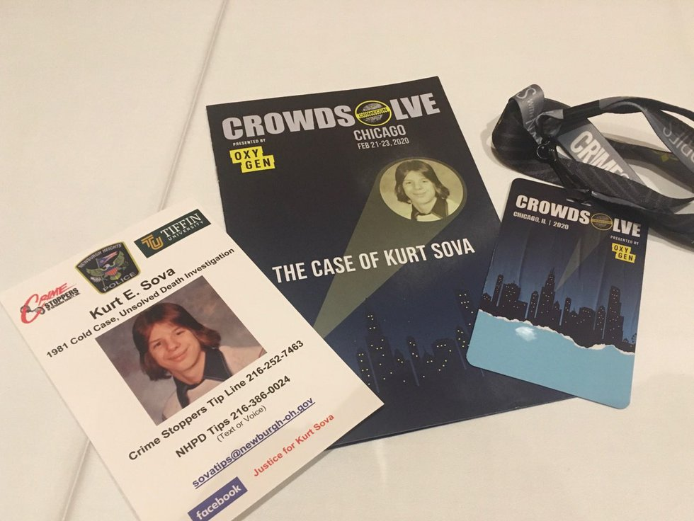 About 300 people came together to try to solve Kurt Sova's case at CrowdSolve: Chicago.