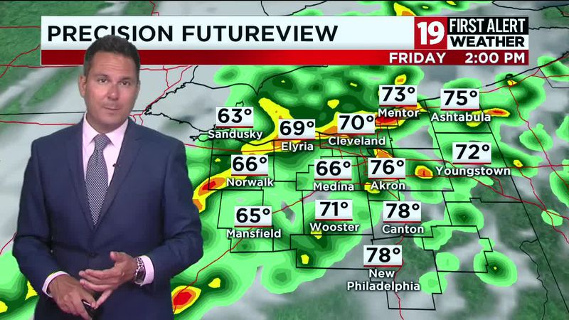 FIRST ALERT WEATHER DAY: Expect severe storms and heavy rain tomorrow