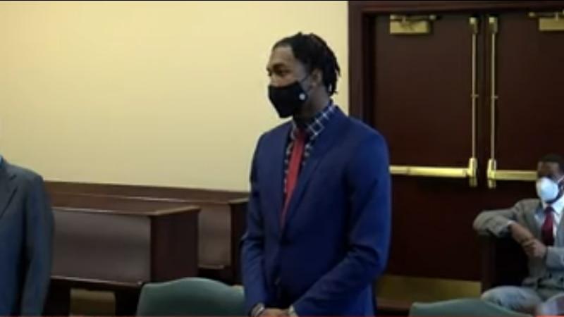 Justin Layne in court