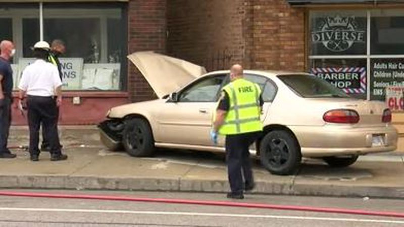 Woman hit by car at Pearl Road and Brooklyn Avenue.