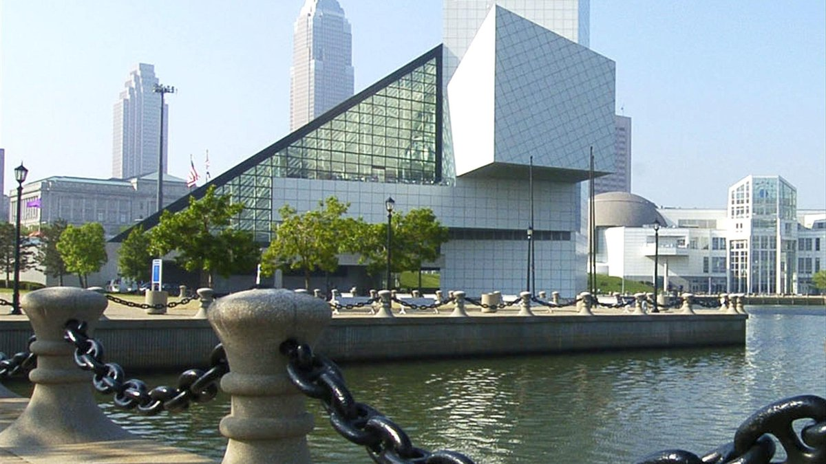 Cleveland's Rock and Roll Hall of Fame + Museum, file photo