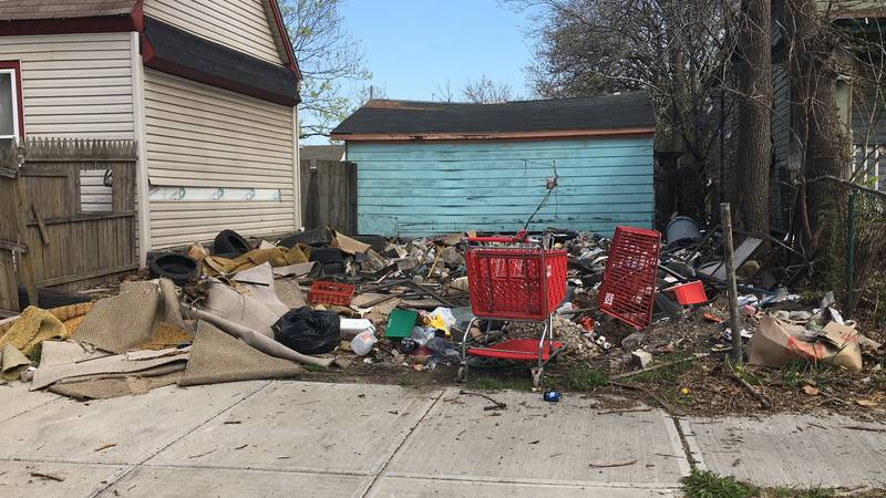 Cleveland residents are tired of the illegal dumping in Slavic Village and want city leaders to...