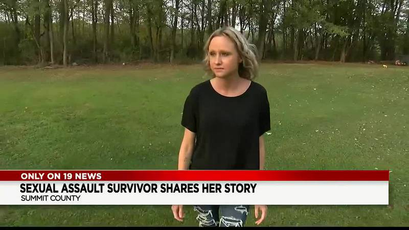 Akron sexual assault survivor shares her story for the 1st time