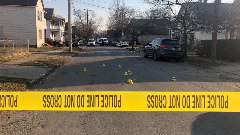 2 people were shot in the Clark-Fulton neighborhood Tuesday