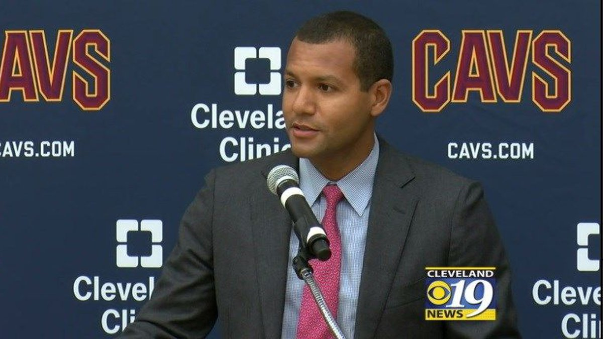 Cavs General Manager Koby Altman. (Source: WOIO)