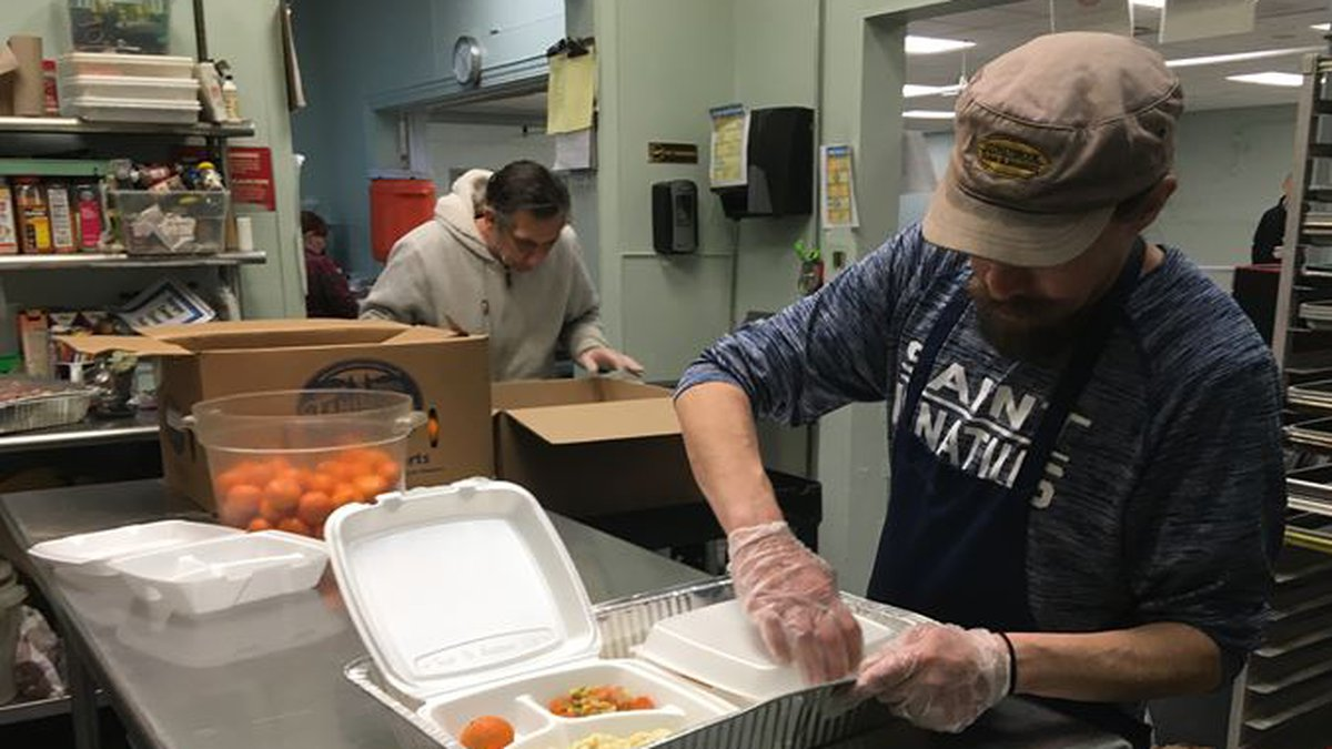 Resumed serving meals to the homeless