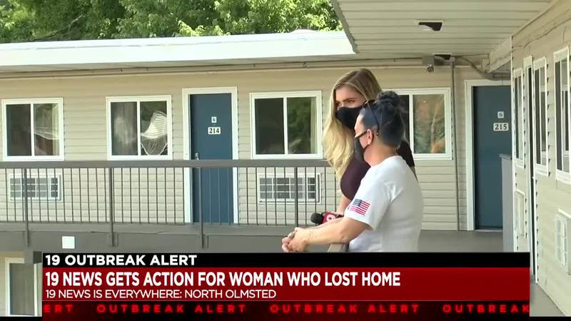 North Olmsted motel owner and guest make amends after 19 News steps in