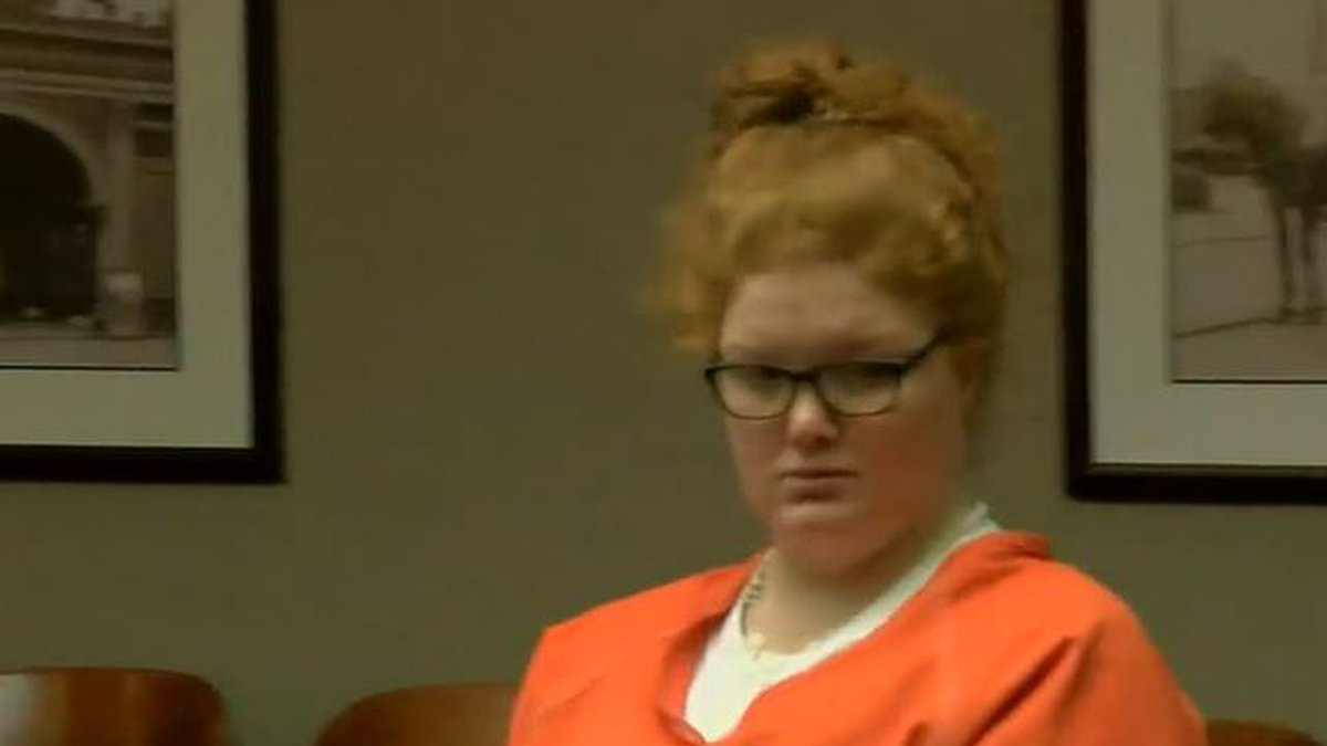 Brittany Gosney pleaded guilty in August to the murder of her 6-year-old son and throwing the...