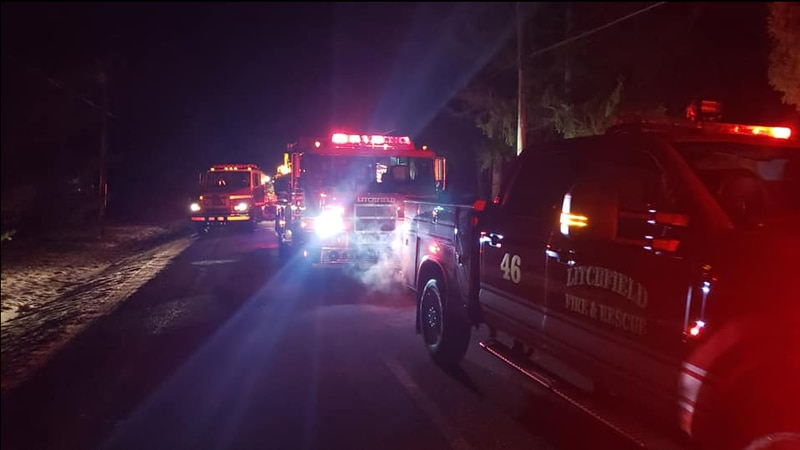 Fire officials issue warning after person dies trying to rescue animal from icy pond in Medina...