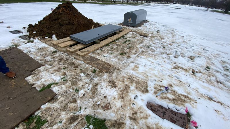 A local family is furious with the City of Cleveland about burial cemetery conditions